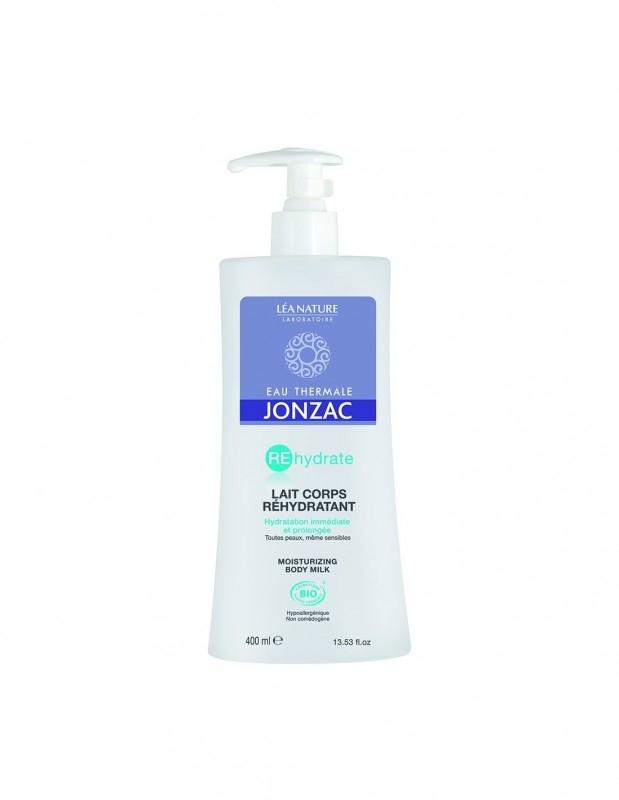 Lapte de corp hidratant pentru piele sensibila si deshidratata, REhydrate 400ml - JONZAC