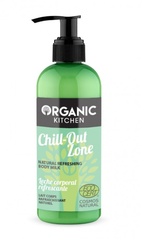 Lapte de corp revigorant cu lemongrass Chill-out Zone - Organic Kitchen