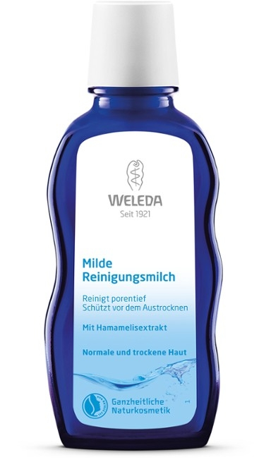 Lapte demachiant delicat pentru ten normal sau uscat, 100 ml - Weleda