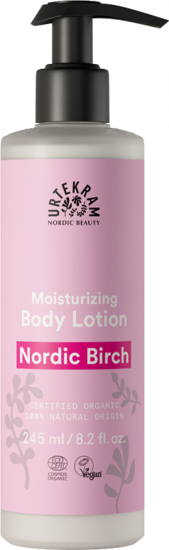Lotiune de corp bio hidratanta cu mesteacan Nordic Birch - URTEKRAM