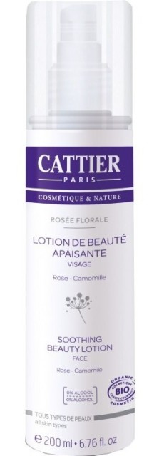 Lotiune tonica bio cu apa de trandafiri Rosee Florale, 200 ml - CATTIER