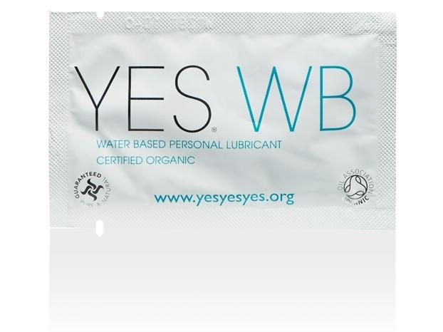 Lubrifiant organic pe baza de apa, plic 7 ml - YES
