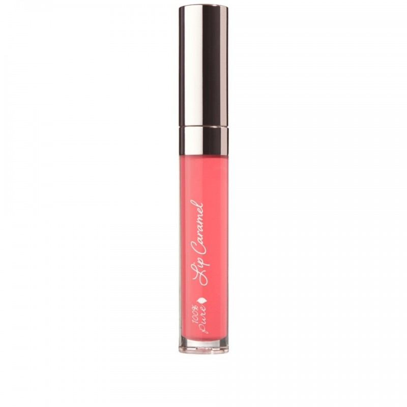 Ruj lichid Lip Caramel, Melon Drop - 100 Percent Pure Cosmetics