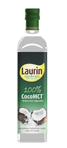 MCT ulei de cocos, 500ml - Laurin
