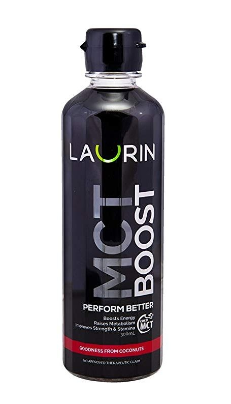 MCT ulei de cocos BOOST ENERGY, 300ml - Laurin