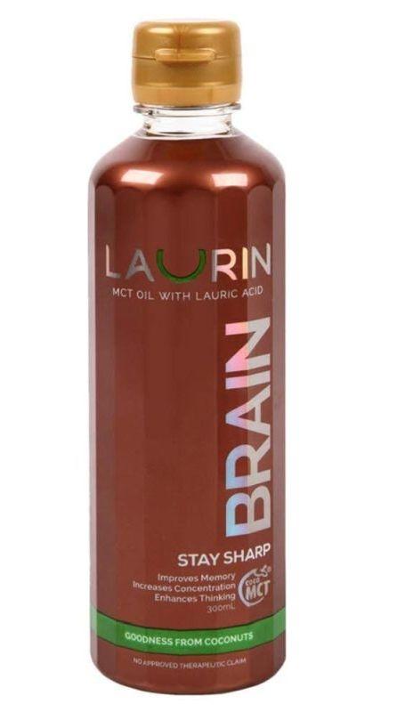 MCT ulei de cocos BRAIN, 300ml - Laurin