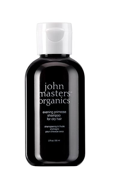 MINI Sampon cu primula pentru par uscat, 60ml - John Masters Organics