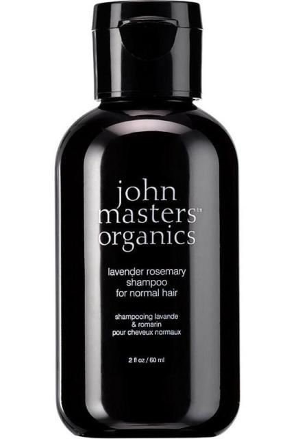 MINI Sampon pentru par normal Lavanda & Rozmarin, 60ml - John Masters Organics
