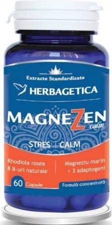 MagneZen Calm, complex natural antistres, 60 capsule - HERBAGETICA