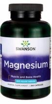 Magneziu 200mg, 250 capsule - Swanson