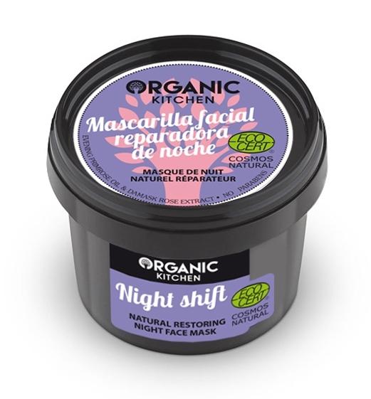 Masca de noapte reparatoare cu primula, Night Shift - Organic Kitchen