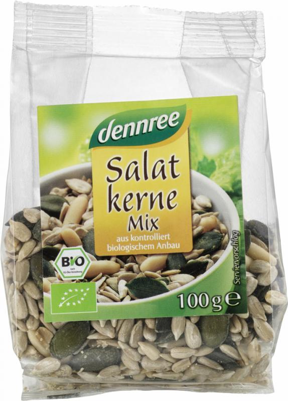 Mix BIO de seminte pentru salata, 100g - Dennree