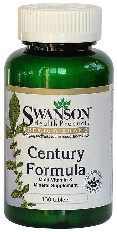Multivitamina Century, 130 cps - Swanson