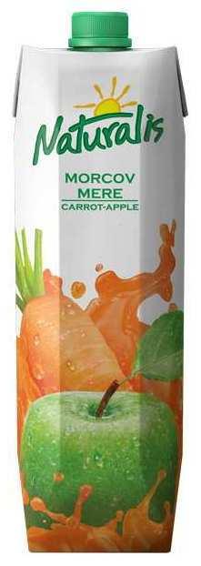Nectar de morcov si mere, 1L - Naturalis
