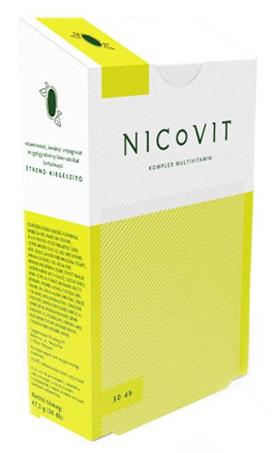 Nicovit, multivitamine cu minerale si plante pentru fumatori, 30 comprimate - Vitaking