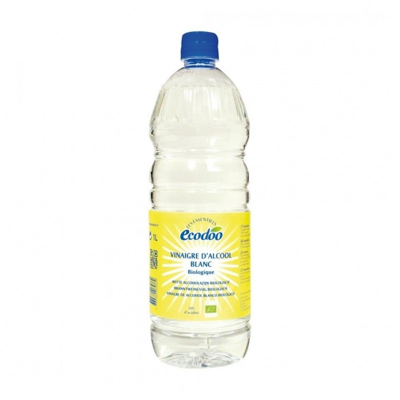 Otet din alcool alb pentru menaj, 1L - Ecodoo