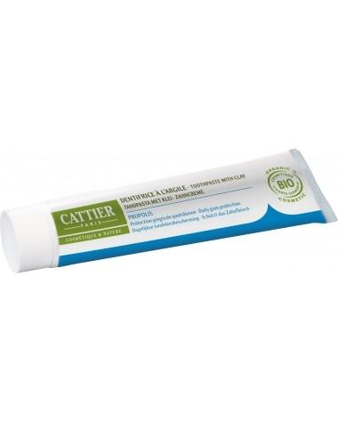 Pasta de dinti bio cu argila si propolis pentru probleme gingivale, Dentargile - CATTIER
