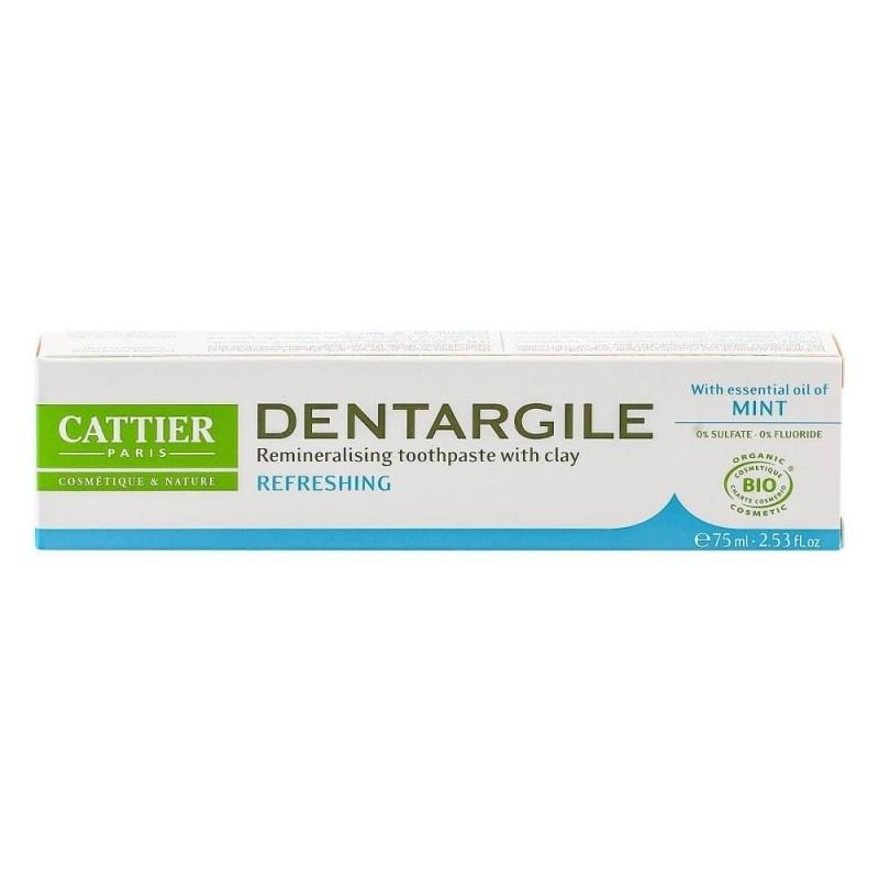 Pasta de dinti bio cu menta pentru respiratie proaspata, Dentargile - CATTIER