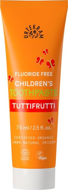 Pasta de dinti bio pentru copii, TUTTIFRUTTI - URTEKRAM