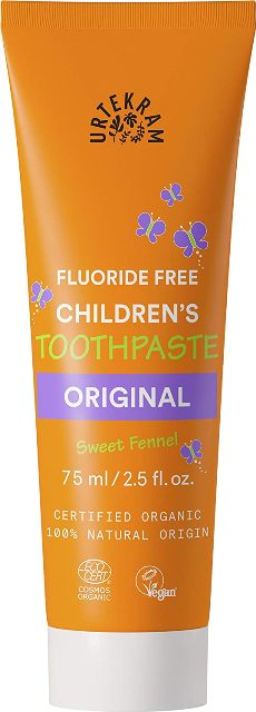 Pasta de dinti bio pentru copii, fara fluor - URTEKRAM