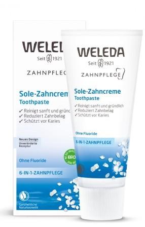 Pasta de dinti naturala cu sare - Weleda