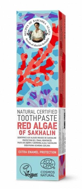Pasta de dinti protectia smaltului Red Algae of Sakhalin, 85g - RBA
