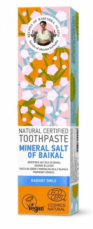 Pasta de dinti zambet radiant Mineral Salt of Baikal, 85g - RBA