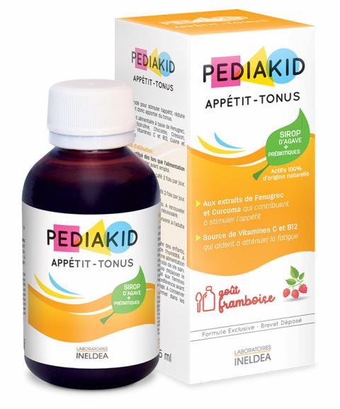 Pediakid APPETIT TONUS pentru cresterea apetitului la copii, sirop 125 ml - PEDIAKID