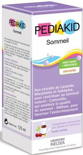 Pediakid SOMMEIL pentru ameliorarea somnului la copii, sirop 125 ml - PEDIAKID
