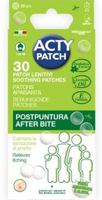 Plasturi pentru calmarea intepaturilor de tantari ActyPatch, 30 bucati