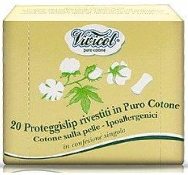 Protej slip ultrasubtire din bumbac, 20 buc - VIVICOT PURO COTONE