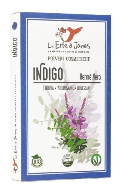 Pudra de Indigo, 100 g - Erbe di Janas