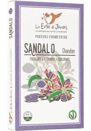 Pudra de Lemn de Santal, 100 g - Erbe di Janas