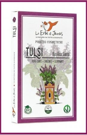 Pudra de Tulsi (Busuioc Indian), 100 g - Erbe di Janas