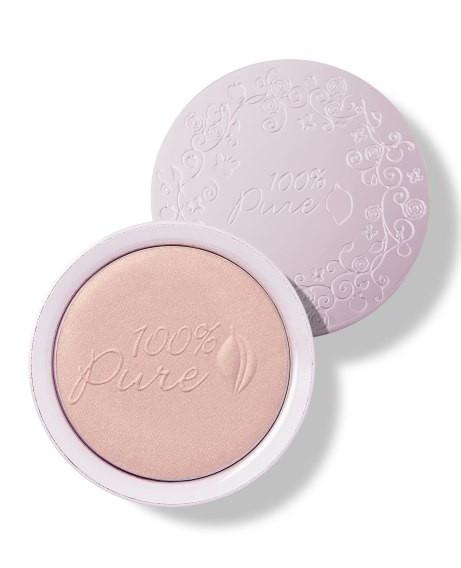 Pudra de fata iluminatoare cu pigmenti din fructe Pink Gold Taffeta - 100 Percent Pure Cosmetics