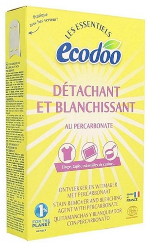 Pudra ecologica de inalbire si indepartare pete cu percarbonat, 350g - Ecodoo