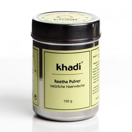 Reetha pudra (nuci de sapun), sampon si gel de dus natural - Khadi