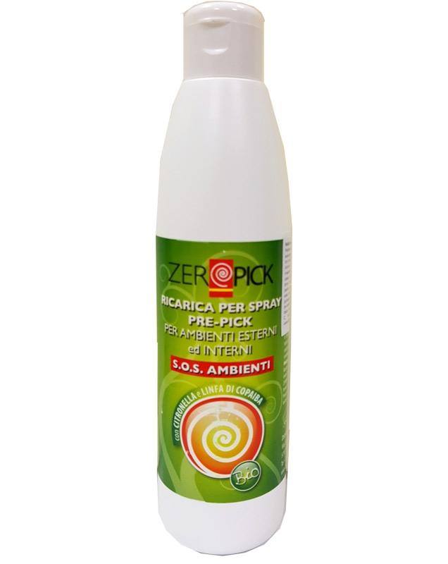 Refill spray ambiental BIO impotriva tantarilor, 250ml - ZEROPICK