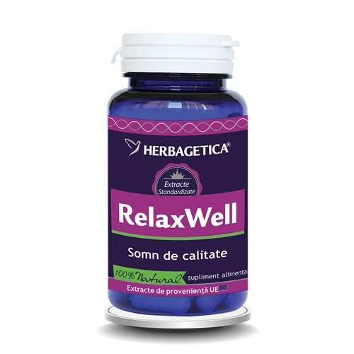 Relax Well, 60 capsule - HERBAGETICA