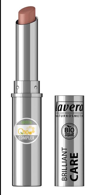 Ruj bio Brilliant Care cu coenzima Q10, Light Hazel 08 - LAVERA