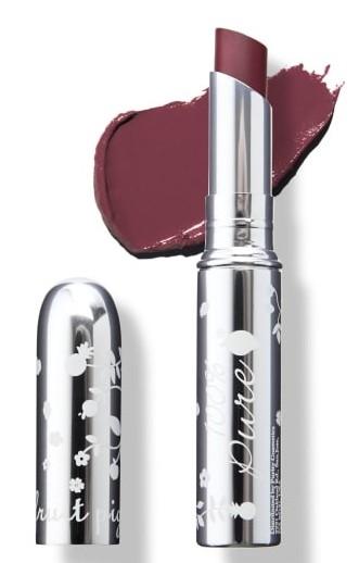 Ruj de buze cu pigmenti din fructe, Velveteen - 100 Percent Pure Cosmetics