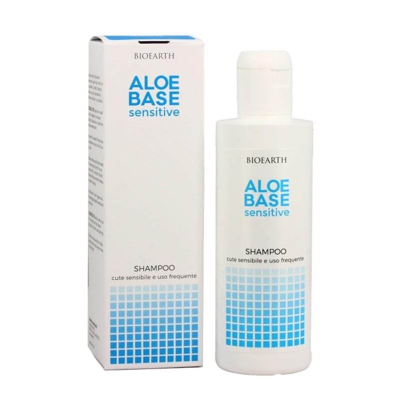 Sampon uz frecvent scalp sensibil sau bebelusi Aloebase, 200ml - Bioearth