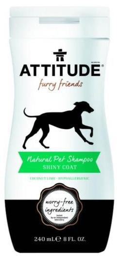 Sampon natural pentru animale de companie, Blana Lucioasa - ATTITUDE