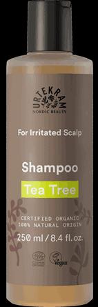 Sampon organic Tea Tree pentru scalp iritat - URTEKRAM