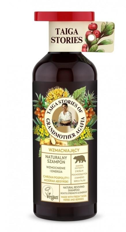 Sampon pentru intarirea radacinilor cu ulei din seminte de mustar, 500ml - Taiga Stories