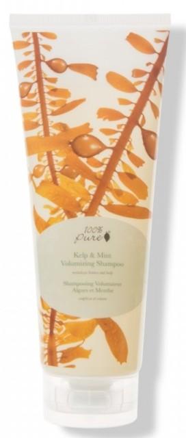 Sampon pentru volum cu extract de kelp si menta - 100 Percent Pure Cosmetics