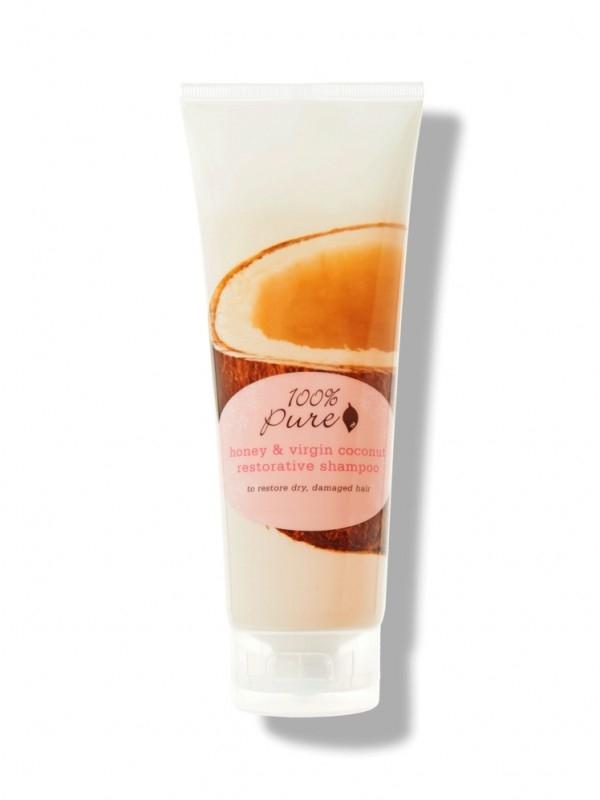 Sampon restructurant cu miere si ulei din nuca de cocos - 100 Percent Pure Cosmetics