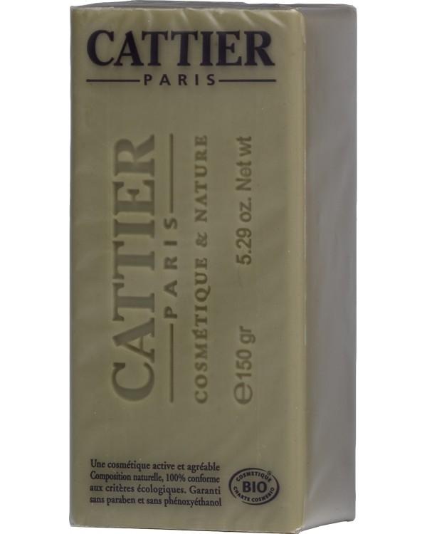 Sapun bio Alargil cu argila verde, pentru tenul acneic - CATTIER