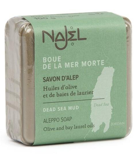 Sapun de Alep cu namol de la Marea Moarta, 100 g - NAJEL