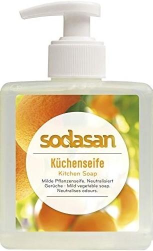 Sapun lichid bucatarie pentru scos mirosuri si degresat maini, 300 ml - Sodasan